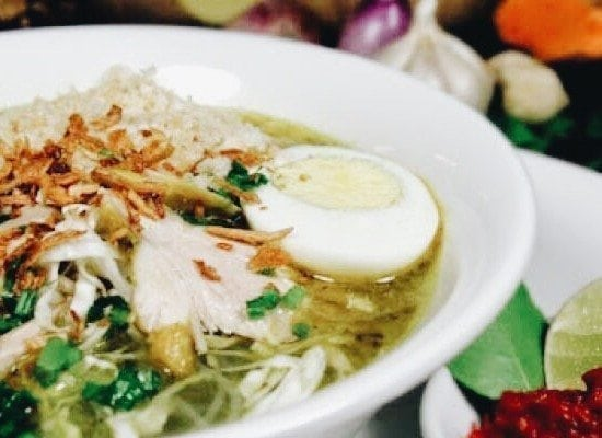 bali food safari soto ayam chicken soup recipe