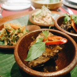 Spotted on Safari • traditional Indonesian tapas