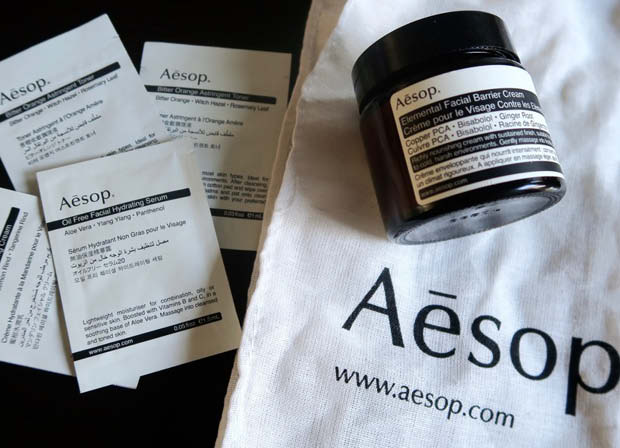 aesop skincare & beauty for travel